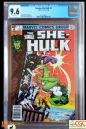 SAVAGE SHE-HULK #3 (1980 Series) - **CGC 9.6**